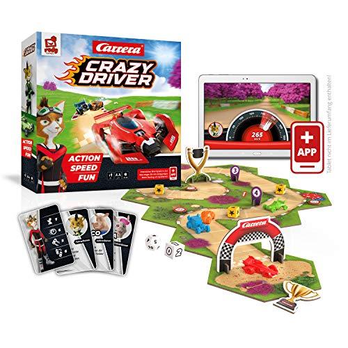 Rudy Games Crazy Driver – Interaktives Rennspiel mit App –...