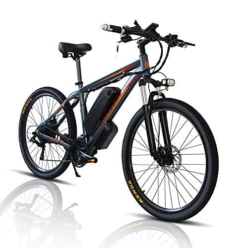 26/29 Zoll Elektro Fahrrad E-Bike, E-Mountainbike mit 1000W Motor +...
