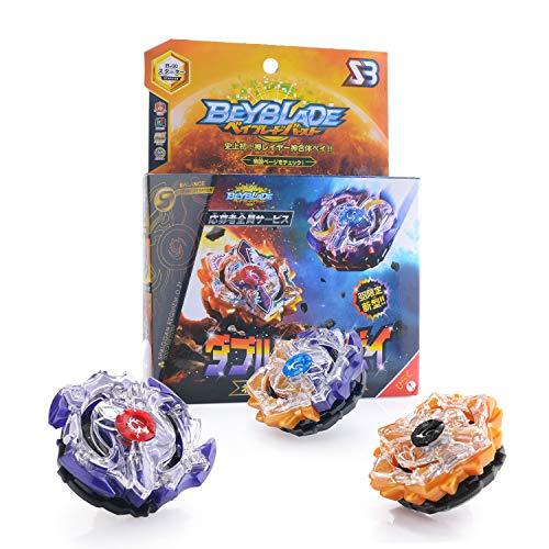 Colmanda Kreisel Kampfkreisel Beyblade Burst Starter Set Launcher für Kinder Spielzeug 4D Fusion Modell...