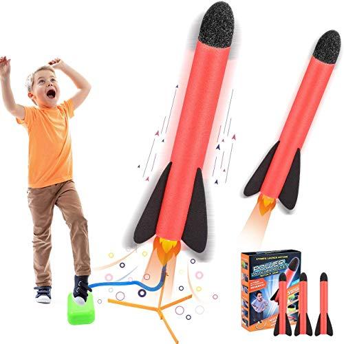 Teaisiy Spielzeug für Draußen ab 4-10 Jahre, Rakete...