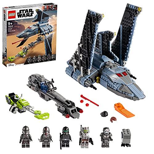 LEGO 75314 Star Wars Angriffsshuttle aus The Bad Batch, Bauset für...