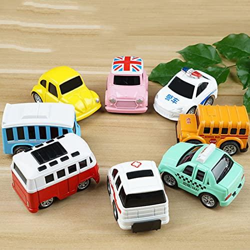 MGJX Kinder Pull Back Mini Legierung Auto Spielzeug Set Junge Auto Bus...