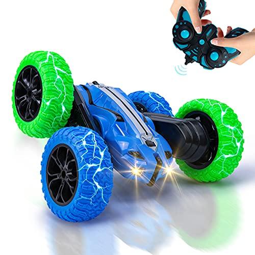 Vubkkty RC Ferngesteuertes Stunt Auto für Kinder, 4WD RC Car...