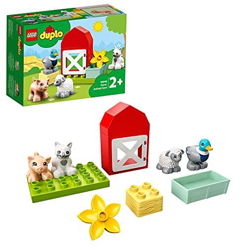 LEGO 10949 DUPLO Tierpflege auf dem Bauernhof Kleinkinder Spielzeug ab...