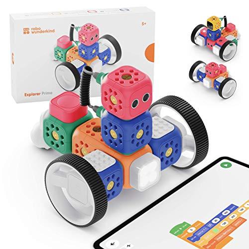 Robo Wunderkind Lernroboter für Kinder ab 5 Jahren -...