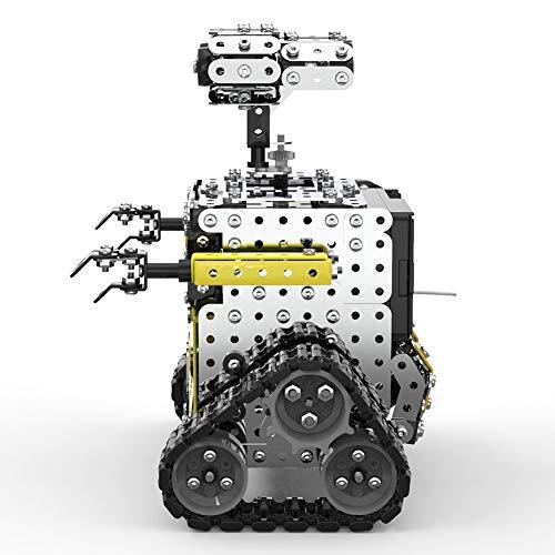 LIKJ Roboterspielzeug, multifunktionaler BAU-DIY-Roboter-Bausatz für...