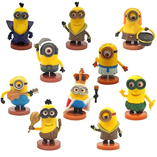 Mini Figuren Set, NALCY 10 Stück Mini Dekorationen, Kuchen Dekoration...