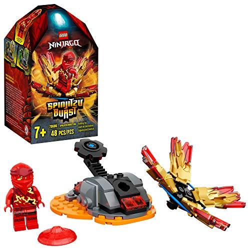 LEGO Ninjago 70686 - Spinjitzu Burst Kai Spinner rot (48 Teile)