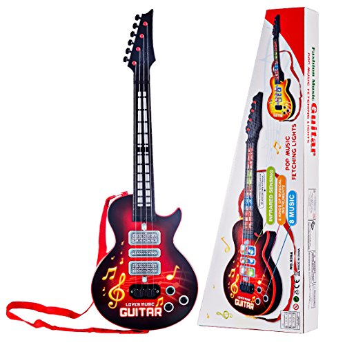 e-Gitarre, Foxom 4 Saiten e-Gitarre Kinder Musikinstrument...