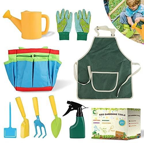 Daohexi 9 Stück Kinder Gartengeräte für Kinder Set,...