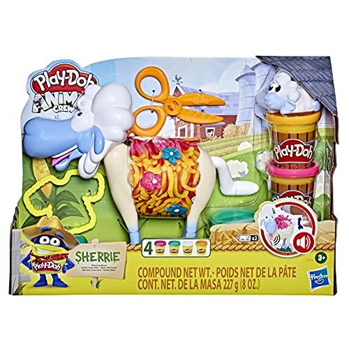 PlayDoh E7773 Animal Crew Sherrie Mama Wollschaf Spielzeug für Kinder...