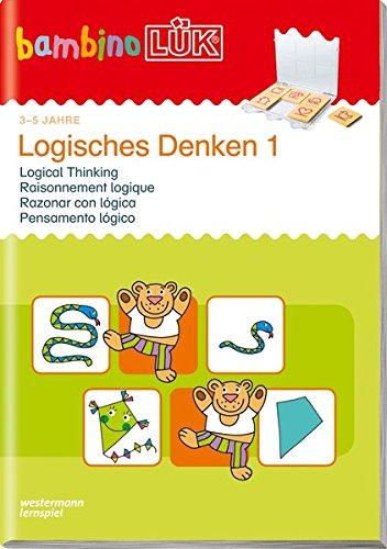 bambinoLÜK-Übungshefte: bambinoLÜK: 3/4/5 Jahre: Logisches Denken 1: Kindergarten / 3/4/5 Jahre: Logisches...