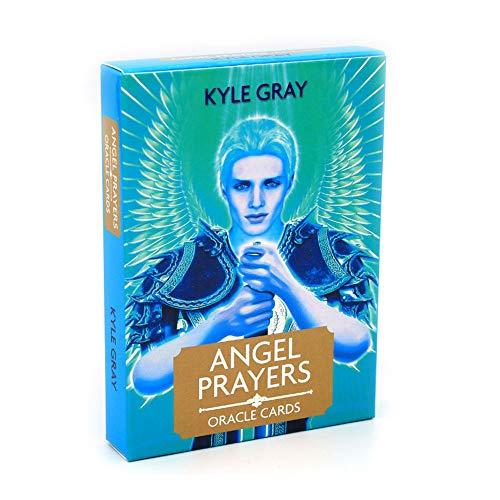 LHYAN Engel Gebete Deck Weinlese Tarot-Karten, Universal Klassiker Divination Weissagungs Spielkarten-Set,...