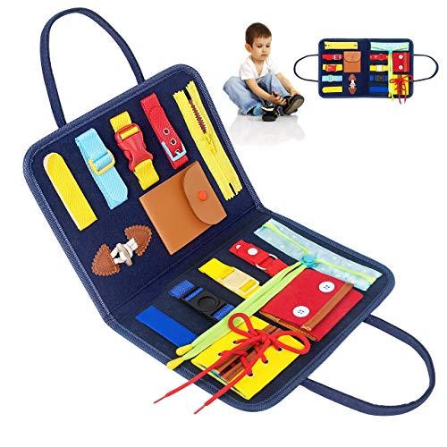 Montessori Spielzeug - Kleinkinder beschäftigt Board,Activity Board...