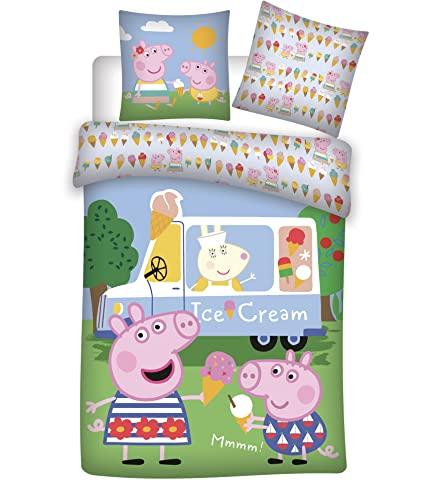BrandMac Bed Linen - Junior Size 140 x 100 cm - Peppa Pig (1000378)