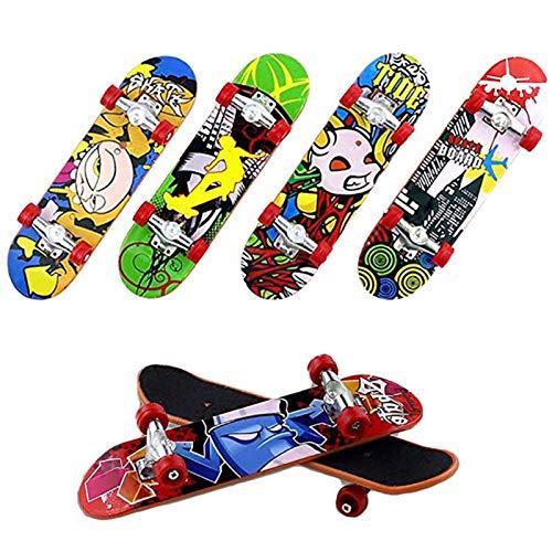 XIANLIAN 9,5 x 2,5 cm Kinder Finger-Skateboar Legierung...