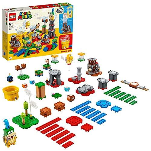 LEGO 71380 Super Mario Baumeister-Set für eigene Abenteuer,...