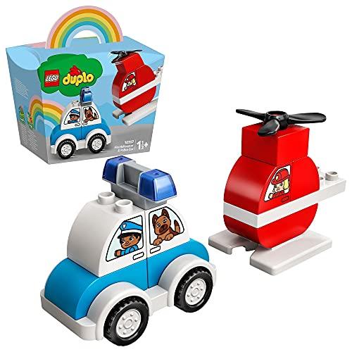 LEGO 10957 DUPLO Mein erster Feuerwehrhubschrauber und Mein erstes...