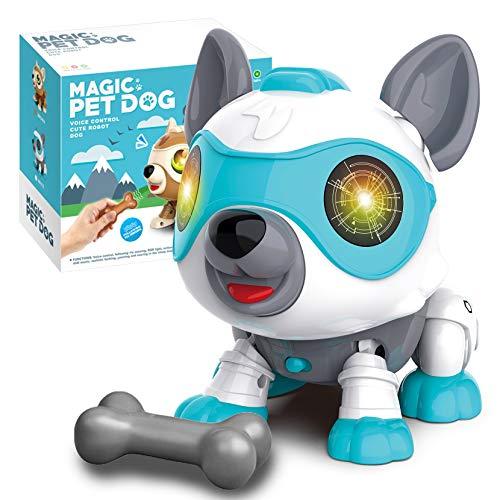 aovowog Elektronisches Haustier Hund Spielzeug Kinder,Roboter Hund...