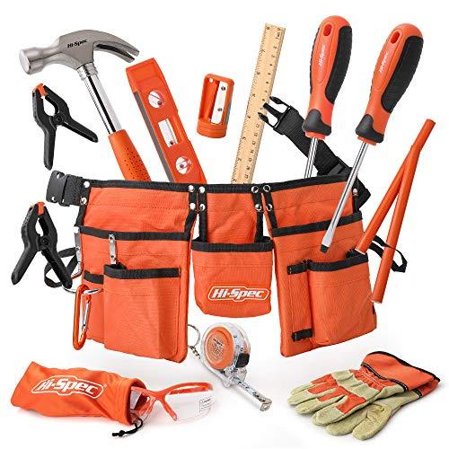 Hi-Spec Kinderwerkzeug. Echtes Werkzeug in Kindergröße Hammer,...