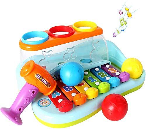 GoStock Musikspielzeug für 1-2-3 Jahre alte Babys...