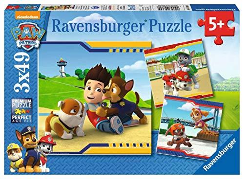 Ravensburger Kinderpuzzle 09369 - Helden mit Fell - 3 x...