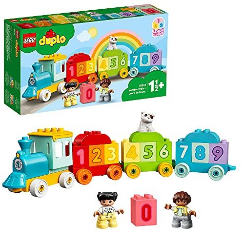 LEGO 10954 DUPLO Zahlenzug - Zählen Lernen, Zug Spielzeug,...