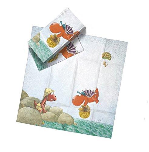 Der kleine Drache Kokosnuss - Drachentücher: Taschentücher