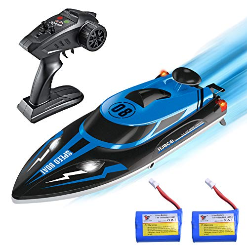 kuman Ferngesteuerte Boote,Upgrade Waterproof Remote Control Boat for Pools and Lakes 25km/h High Speed RC...