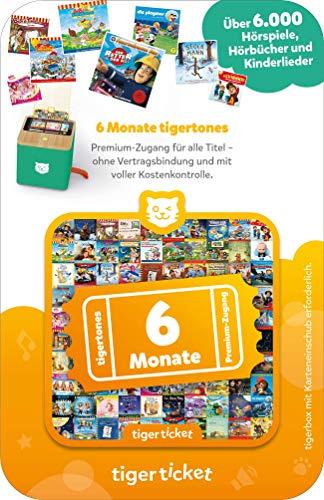 tigermedia 4203 6 Monate tigertones Premium-Zugang