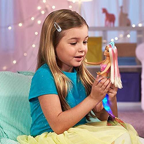 Barbie Gfl82 Dreamtopia Schwingende Meerjungfrau Puppen, Mehrfarbig