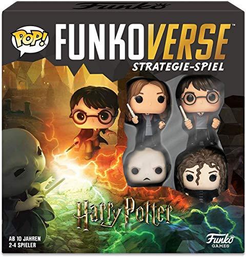 Funko 43477 Harry Potter 100 Funkoverse (4 Charaktere Pack)...