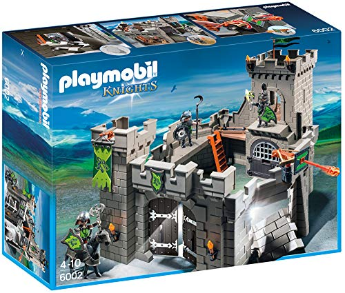 PLAYMOBIL Knights - Wolf Knights` Castle Play Set (6002) *