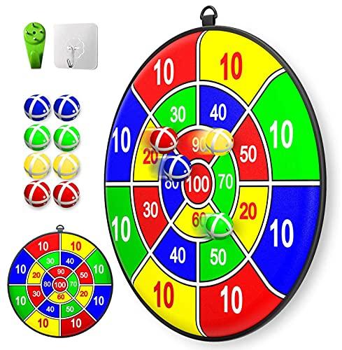 Lbsel Kinderspiel Weihnachten Party Thema Dart Board mit 8 Bällen...