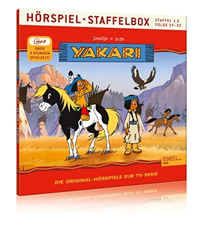 Yakari - Staffelbox 1.2 (mp3-CD) - Die Original-Hörspiele zur...
