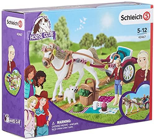 Schleich 42467 Horse Club Spielset - Kutsche für Pferdeshow,...