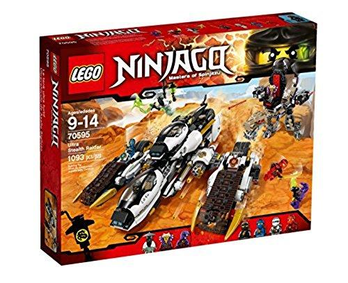LEGO Ninjago 70595 - Ultra-Tarnkappen-Fahrzeug, Spielzeug für neun Jährige Kinder