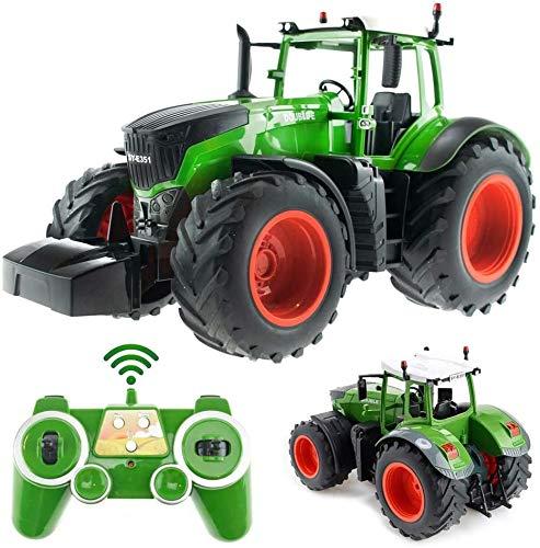 s-idee® S351 RC Traktor 1:16 mit 2,4 GHz ferngesteuert mit Licht und...