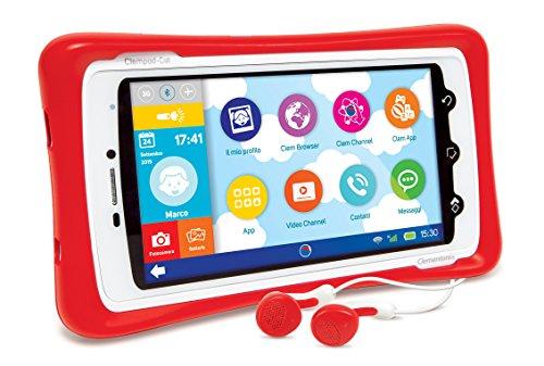 Clementoni 13943–Clempad Call Tablet + SIM, 5Zoll Display, Bluetooth 4.0und integrierte GPS...
