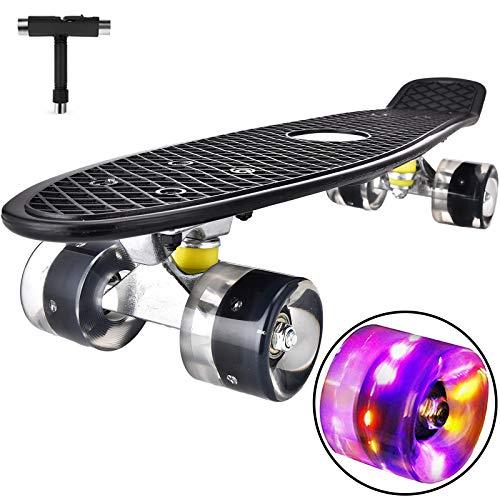 Skateboard Komplette Mini Cruiser Skateboard für Kinder Jugendliche...