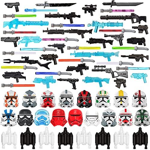 Gedar Waffen Kit, Maske, Helm für Lego Star Wars Waffen, Blaster für...
