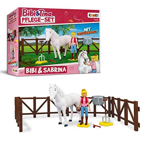Craze Set Tina BIBI & Tina Pflege Pferdeset Pferdefiguren Spielfiguren...