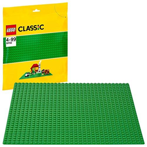 LEGO 10700 Classic Grüne Bauplatte, 25 cm x 25 cm, Lernspielzeug,...