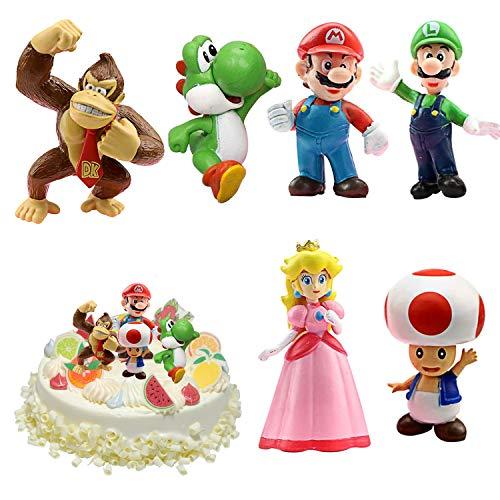 WELLXUNK® Super Mario Spielzeug, Super Mario Brothers, Super Mario...