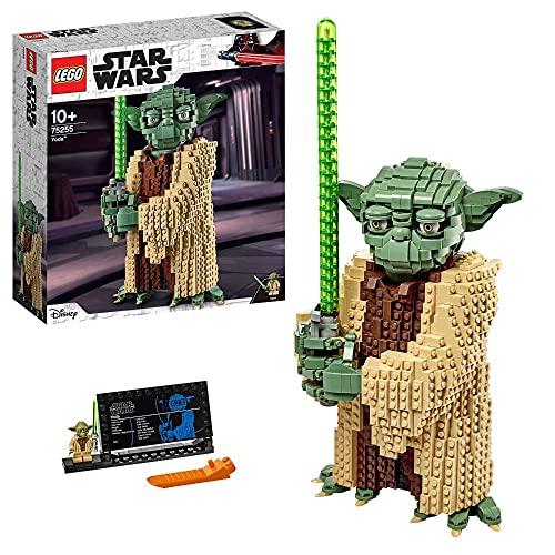 Lego 75255 Star Wars Yoda Bauset, Sammlermodell mit Displayständer,...