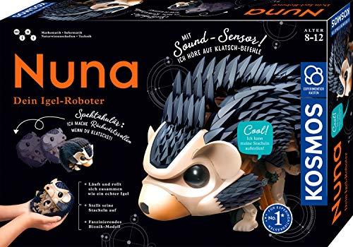 Kosmos 620066 Nuna - Dein Igel-Roboter, Rückwärtsrollen durch...
