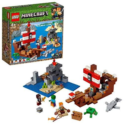 LEGO Minecraft™ 21152 Das Piratenschiff-Abenteuer