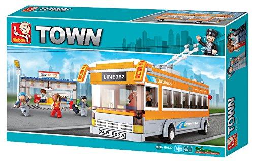 Sluban M38-B0332 - Baukasten - Stadt - Trolley Bus /...