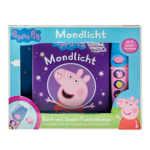 Peppa Pig - Pop-Up-Buch mit Taschenlampe - Bilderbuch mit 5 lustigen...