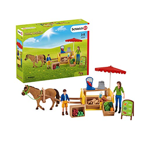 SCHLEICH 42528 Farm World, Mehrfarbig,34.01 x23.01x11.98cm(W...